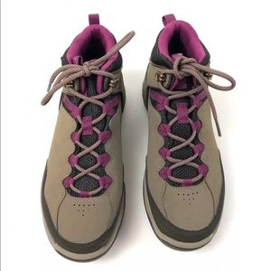 7f691547dfaae4 Teva Shoes - Teva Ridge Peak Boots SZ 7 Hiking Brown Purple NEW